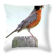 Dinner's Ready Throw Pillow