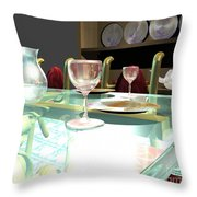 Dinning Table Throw Pillow