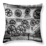 Dinorwig Quarry Workshop V2 Throw Pillow