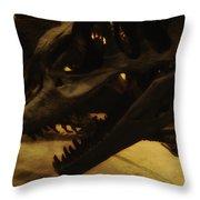 Dinosaur Bones 3 Throw Pillow