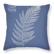 Diplazium Griffithii Throw Pillow