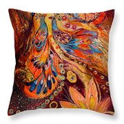 Diptych The Moments Of Love Part II Throw Pillow