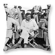 Director Douglas Fairbanks Throw Pillow
