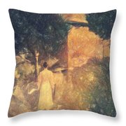 Dirge For November Throw Pillow by Taylan Apukovska