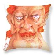 Dirk Masqewlyn Throw Pillow