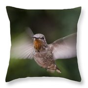 Dirty Chin Throw Pillow