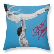 Dirty Dancing The Lift Throw Pillow