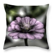 Dirty Flowers 3 Throw Pillow