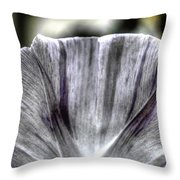 Dirty Flowers Throw Pillow