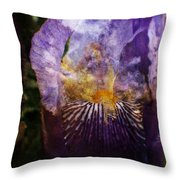 Dirty Flowers. Throw Pillow