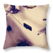 Dirty Hands Throw Pillow