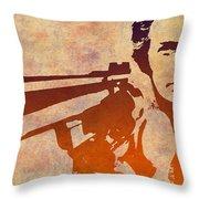 Dirty Harry - 2 Throw Pillow