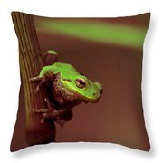 Dirty Work Throw Pillow by Sean Green