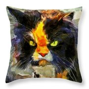 Disaffection Throw Pillow