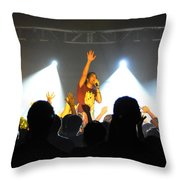 Disciple-front View-0361 Throw Pillow