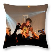 Disciple-front View-0371 Throw Pillow