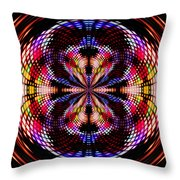Disco Dancing In A Black Hole Throw Pillow
