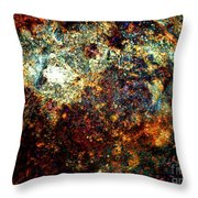 Discovery - Abstract 002 Throw Pillow