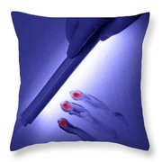Discovery Throw Pillow by Olivier Le Queinec