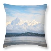 Early Morning Discovery Passage  Throw Pillow