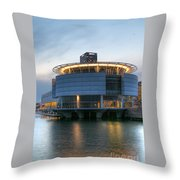 Discovery World Throw Pillow