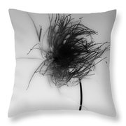Dishevelled Breath  Throw Pillow
