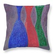Disillusion Throw Pillow by Carol  Eliassen