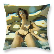 Disjointed Throw Pillow