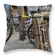 Disney Bicycle Throw Pillow