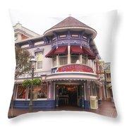 Disney Clothiers Main Street Disneyland 02 Throw Pillow
