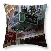 Disney Cola Throw Pillow