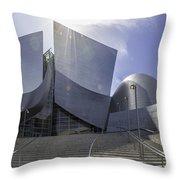 Disney Concert Hall Los Angeles Throw Pillow