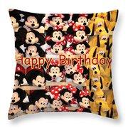 Disney Cuddlies Throw Pillow