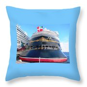 Disney Magic Boat Throw Pillow