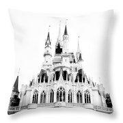 Disney Old School Throw Pillow