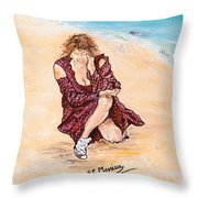 Disperazione Throw Pillow