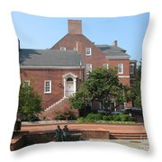 Display Patience Sculpture - Annapolis Throw Pillow
