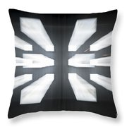 Display Screens Throw Pillow