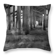 Dissipation  Throw Pillow