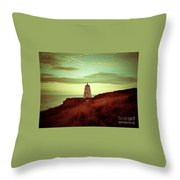 Distant Direction Throw Pillow