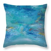 Distant Shore Throw Pillow