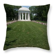 District Of Columbia War Memorial Throw Pillow
