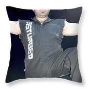 Disturbed Throw Pillow