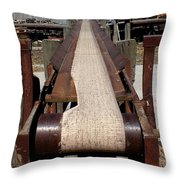Disused Throw Pillow