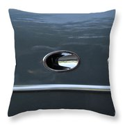 Ditto Abstract Throw Pillow
