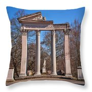 Divae Faustinae Throw Pillow
