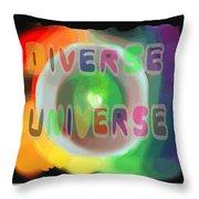 Diverse Universe Throw Pillow