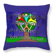 Diversity Tree Throw Pillow