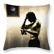 Divide Et Pati - Divide And Suffer Throw Pillow
