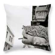 Divine Jagdish Temple Throw Pillow